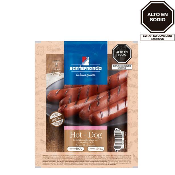 Oferta de Hot dog x 220 Gr. por S/ 3,9