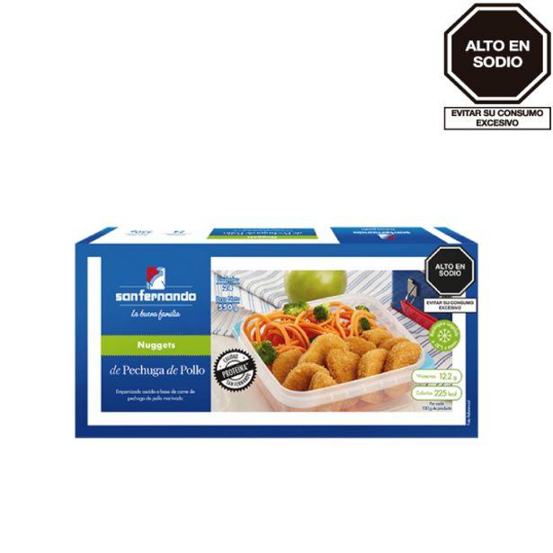 Oferta de Nuggets de pechuga de pollo  x 24 und por S/ 11,5