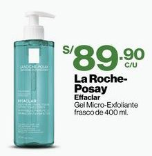 Oferta de Gel Micro-Exfoliante Effaclar La Roche-Posay - Frasco 400 ML por S/ 89,9