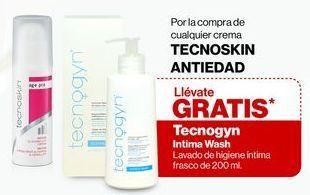 Oferta de Gratis Tecnogyn Intima Wash Lavado de higiene íntima frasco de 200 ml. por