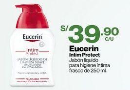 Oferta de Eucerin Intim Protect Jabón líquido para higiene íntima frasco de 250 ml. por S/ 39,9