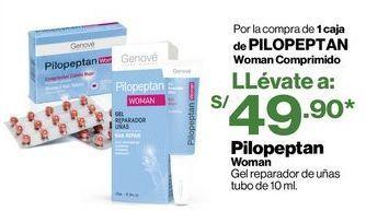 Oferta de Pilopeptan Woman Gel reparador de uñas tubo de 10 ml. por S/ 49,9