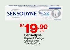 Oferta de Sensodyne Repara & Protege 100 gr  por S/ 19,9