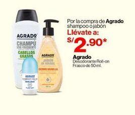 Oferta de Shampoo o Jabon Agrado  por