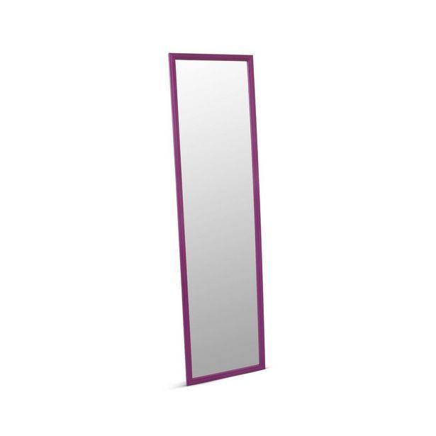 Oferta de Espejo básico Morado 123.5 x 33.5 cm por S/ 29,9