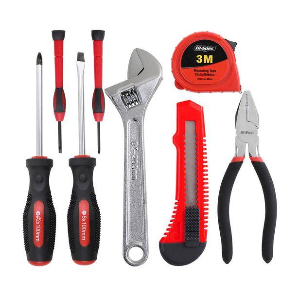 Oferta de Set de herramientas de mano 8 piezas Tool Set por S/ 29,9