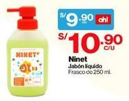 Oferta de Jabón Líquido Manzanilla para Bebés Ninet por S/ 9,9