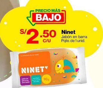 Oferta de Jabón en Barra Ninet Baby Glicerina por S/ 2,5