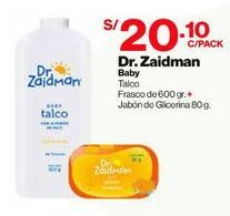 Oferta de Talco Dr. Zaidman + Regalo - Kit 1 UN por S/ 20,1