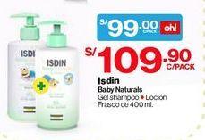 Oferta de Gel Shampoo ISDIN Baby Naturals por S/ 99