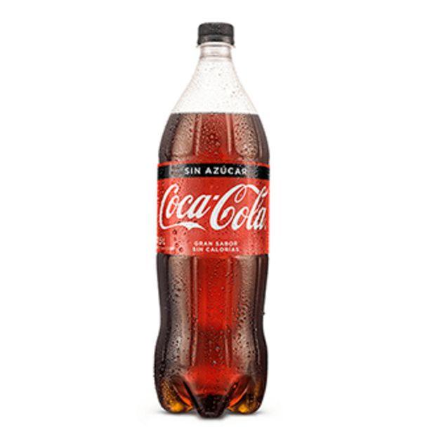 Oferta de COCA COLA SIN AZUCAR 1.5 L por S/ 10
