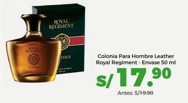 Oferta de Colonia para Hombre Leather Royal Regiment - Envase 50 ml por S/ 17,9