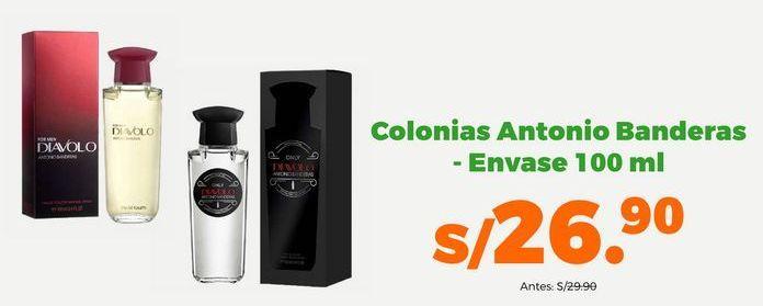 Oferta de Colonias Antonio Banderas- Envase 100ml por S/ 26,9