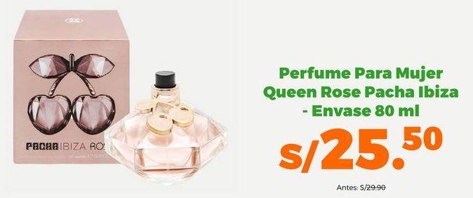 Oferta de Perfume para Mujer Queen Rose Pacha Ibiza - Envase 80 ml por S/ 25,5