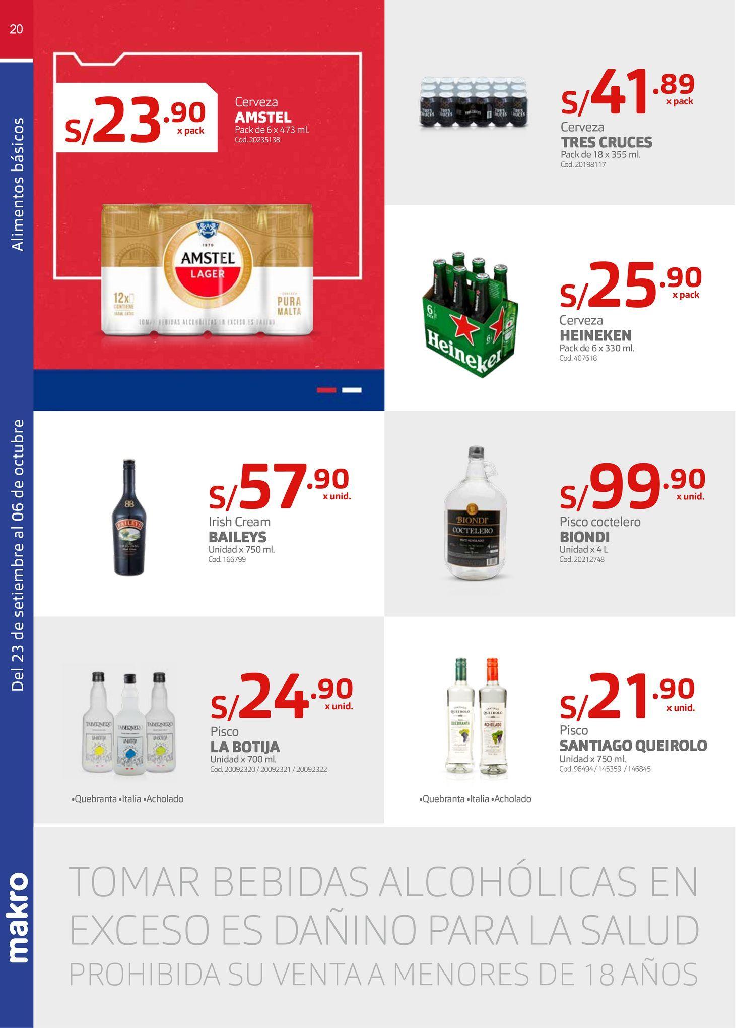 Oferta de Cerveza Amstel por