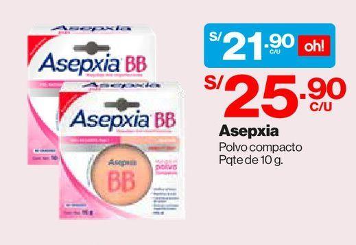 Oferta de Maquillaje en Polvo Anti-Imperfecciones Asepxia Tono Natural 10g por S/ 21,9
