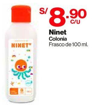 Oferta de Colonia para Bebés Ninet - Frasco 100 ML por S/ 8,9