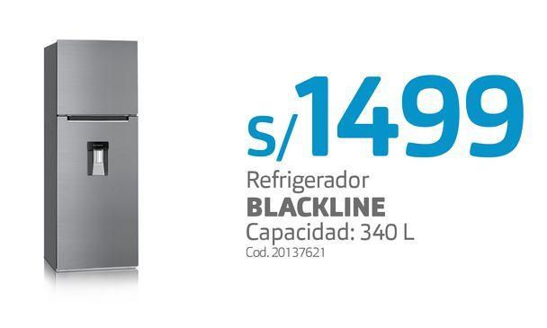 Oferta de Refrigerador BLACKLINE por S/ 1499