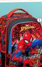 Oferta de Mochilas escolares Spiderman por S/ 99.9