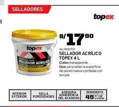 Oferta de Sellador Topex por S/ 17.9
