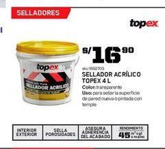 Oferta de Sellador Topex por S/ 16.9