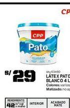 Oferta de Pintura CPP por S/ 29