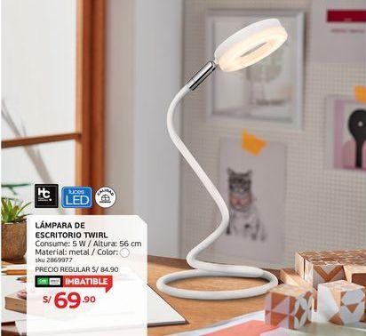 Oferta de Lámpara de mesa por S/ 69.9