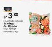 Oferta de Ensaladas cocidas por S/ 3,8