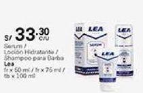 Oferta de Loción hidratante lea por S/ 33,3