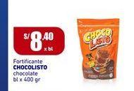 Oferta de Complementos Chocolisto por S/ 8,4