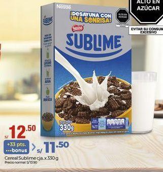Oferta de Cereales infantiles Sublime por S/ 12,5