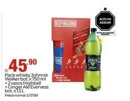 Oferta de Whisky Johnnie Walker por S/ 45,9