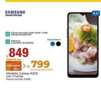 Oferta de Celulares Samsung por S/ 849