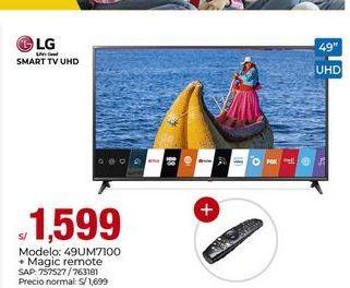 Oferta de Smart tv Lg por S/ 1599
