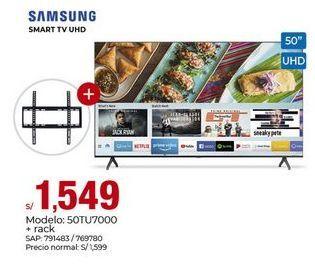 Oferta de Smart tv Samsung por S/ 1549
