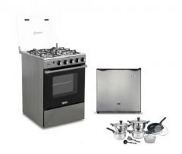 Oferta de Frigobar Miray RM-45 + Cocina a gas Miray Olmo + Juego... por S/ 949