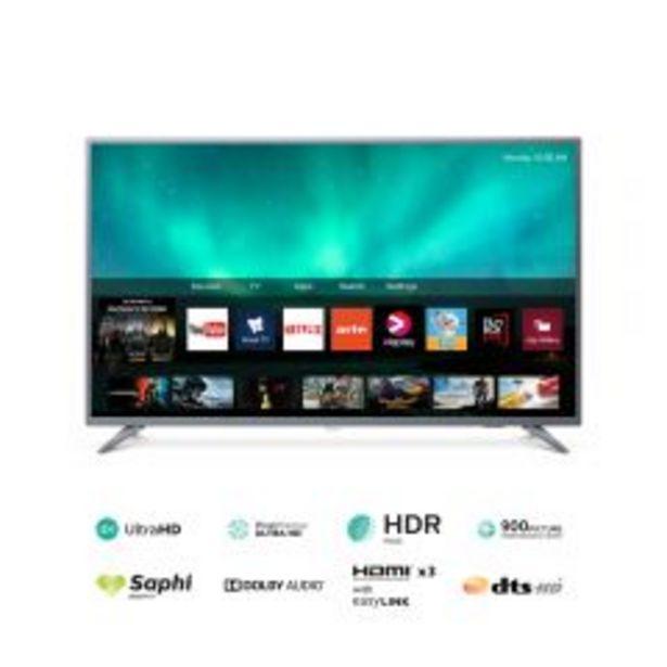 "Oferta de TV Philips LED 4K UHD Smart 50"" 50PUD6513 por S/ 1399"