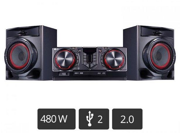 Oferta de Minicomponente LG XBOOM CJ44 por S/ 599