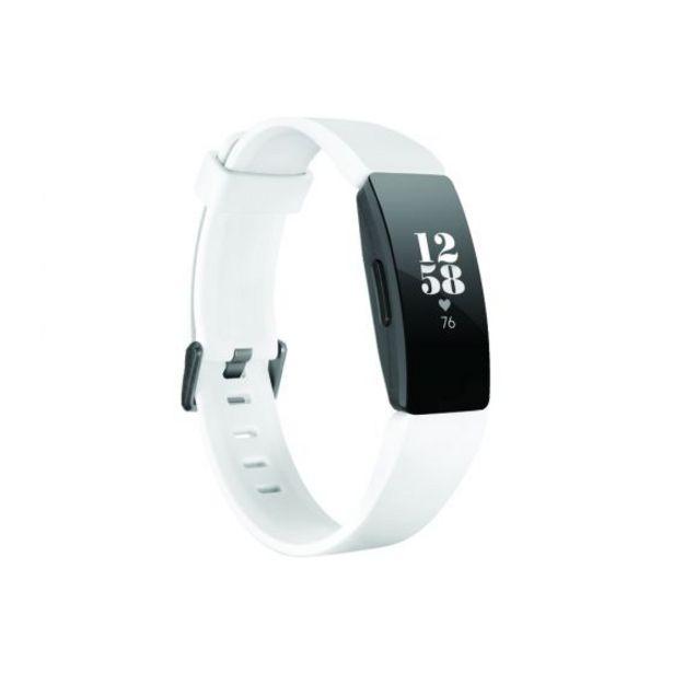 Oferta de Reloj Smart Fitbit INSPIRE HR FB413BKWT White por S/ 369