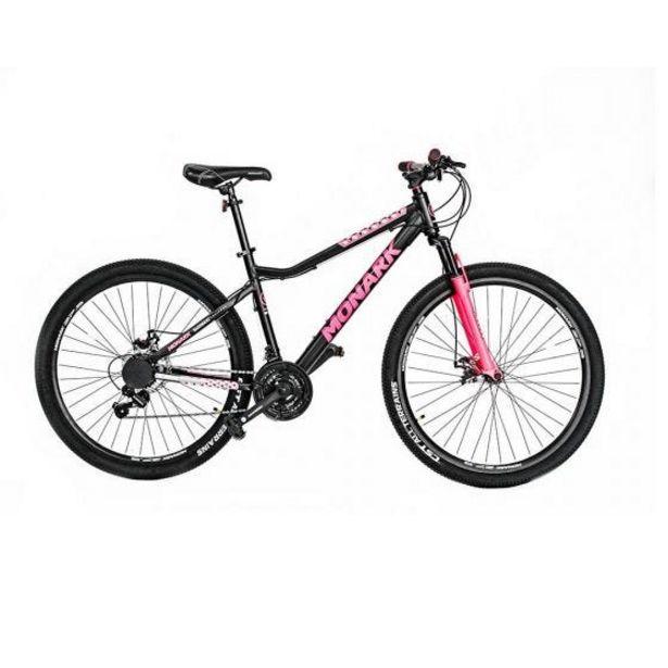 "Oferta de Bicicleta Monark Mirage Advanced Aro 27.5"" M Negro/Fucsia por S/ 1299"