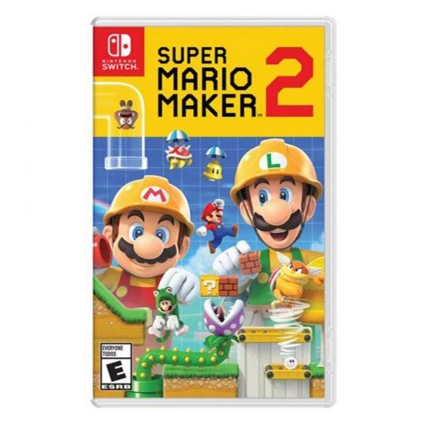 Oferta de Videojuego Super Mario Maker 2 Switch Nintendo por S/ 259