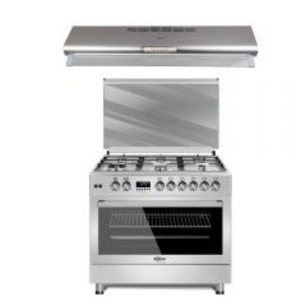 Oferta de Cocina a Gas Klimatic F9S60GF-SS 6 Hornillas + Campana... por S/ 4199