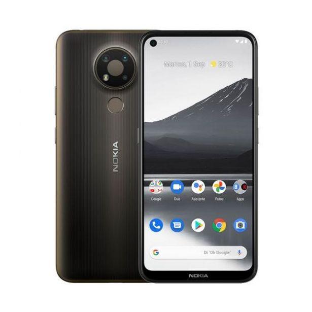 Oferta de Celular Libre Nokia 3.4 64GB 3GB RAM Gris por S/ 719