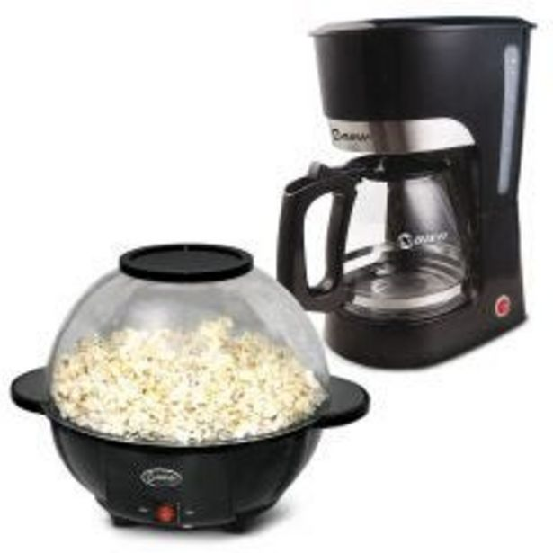 Oferta de Cafetera Miray CM-838 + Pop cornera Miray POPM-14 por S/ 129