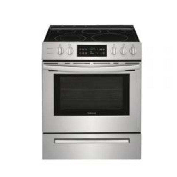 Oferta de Cocina Eléctrica Frigidaire FFEH-3054US 5 hornillas por S/ 4799