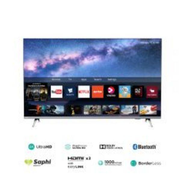 "Oferta de TV Philips LED 4K UHD Smart 50"" 50PUD6654 por S/ 1499"