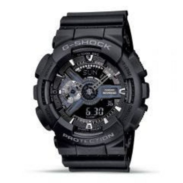 Oferta de Reloj Pulsera Casio G-SHOCK/ GA-110-1BDR por S/ 599