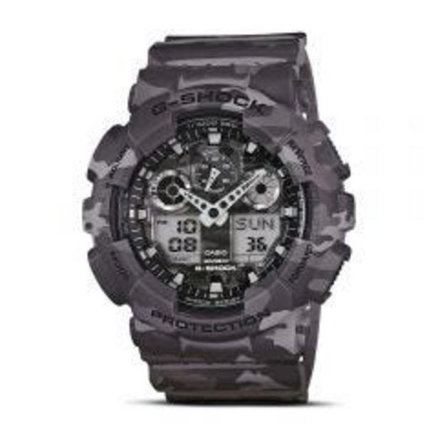 Oferta de Reloj Pulsera Casio G-SHOCK/ GA-100CM-8ADR por S/ 699