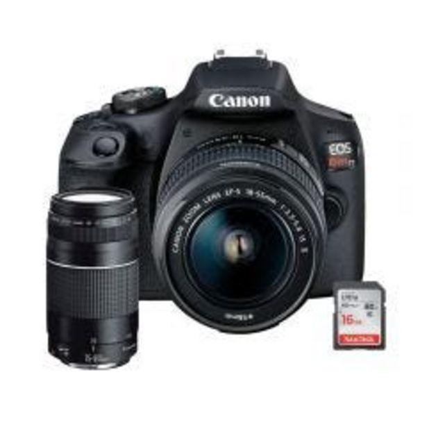 Oferta de Cámara Digital Canon EOS REBEL T7 18-55 DCIII + Lente... por S/ 2399
