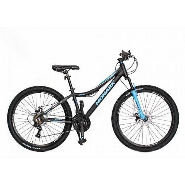 "Oferta de Bicicleta Monark Mirage Advanced Aro 26"" H Negro/Azul por S/ 1199"